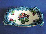 Large Keeling and Co 'Magnolia' Losol Ware Footed Dish c1920